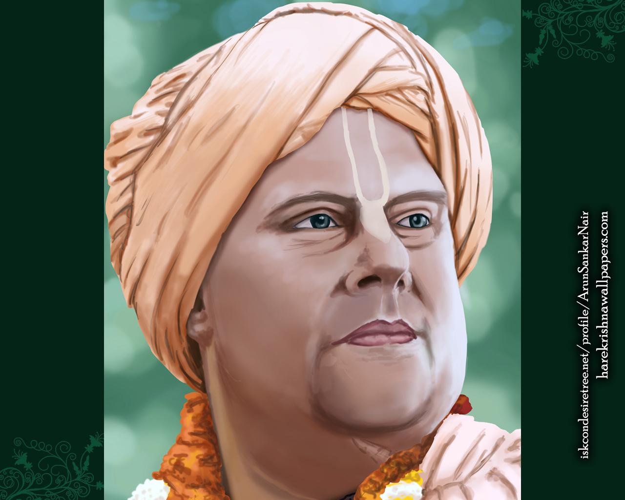His Holiness Jayapataka Swami Wallpaper (004) Size 1280x1024 Download