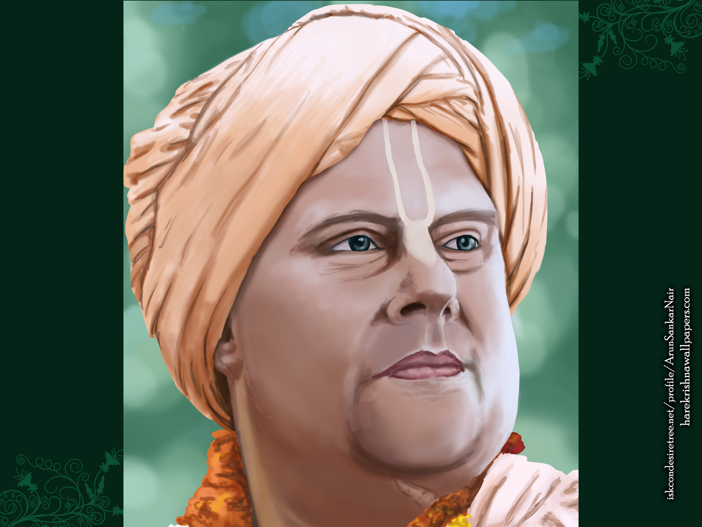 His Holiness Jayapataka Swami Wallpaper (004) Size 1400x1050 Download