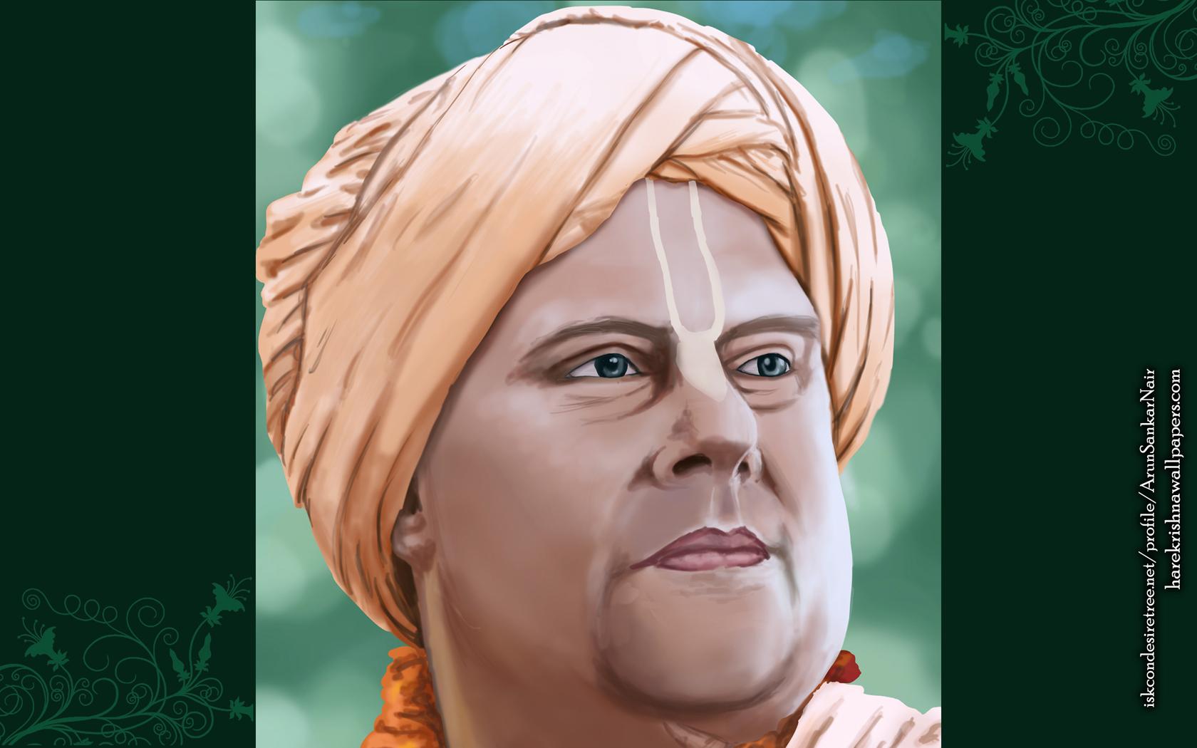 His Holiness Jayapataka Swami Wallpaper (004) Size 1680x1050 Download