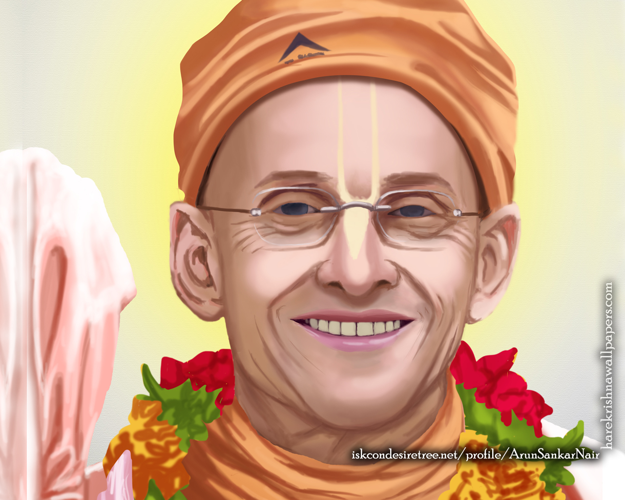 His Holiness Kadamba Kanana Swami Wallpaper (005) Size 1280x1024 Download