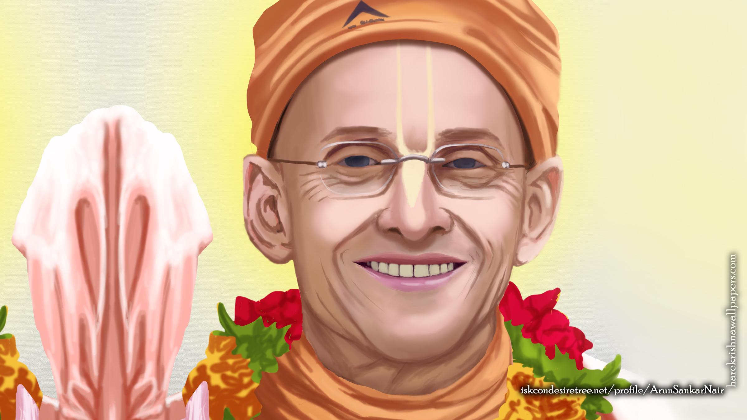 His Holiness Kadamba Kanana Swami Wallpaper (005) Size 2400x1350 Download