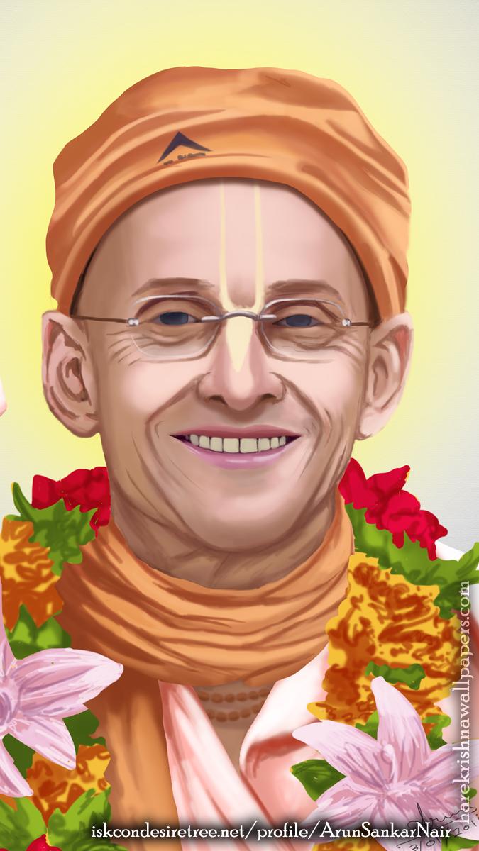 His Holiness Kadamba Kanana Swami Wallpaper (005) Size 675x1200 Download