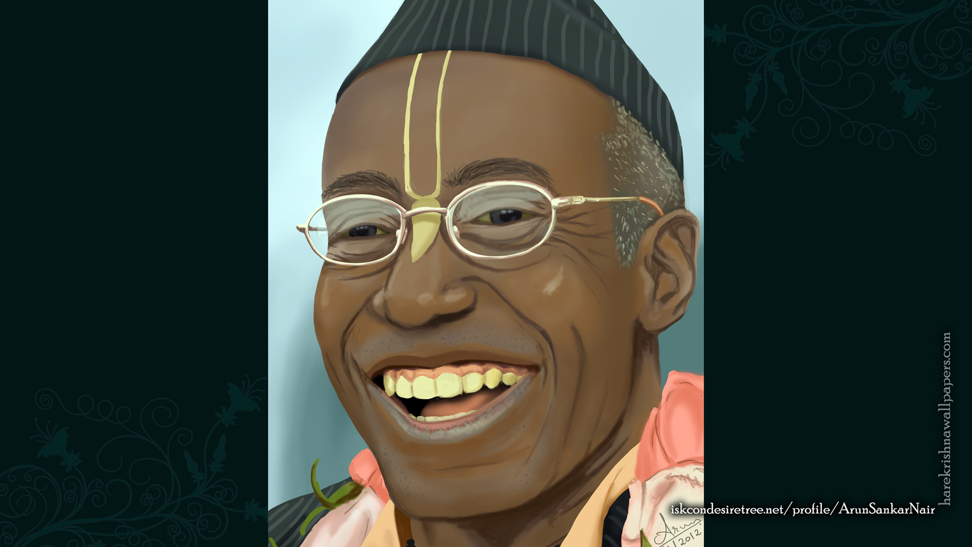His Holiness Bhakti Tirtha Swami Wallpaper (006) Size 1920x1080 Download