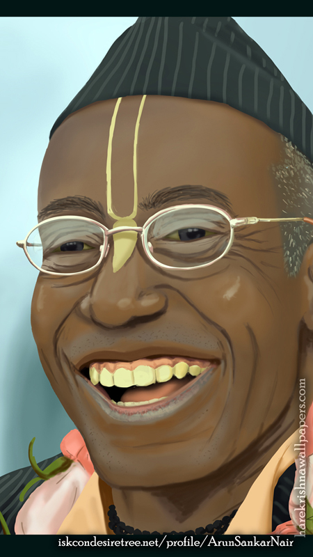 His Holiness Bhakti Tirtha Swami Wallpaper (006) Size 450x800 Download