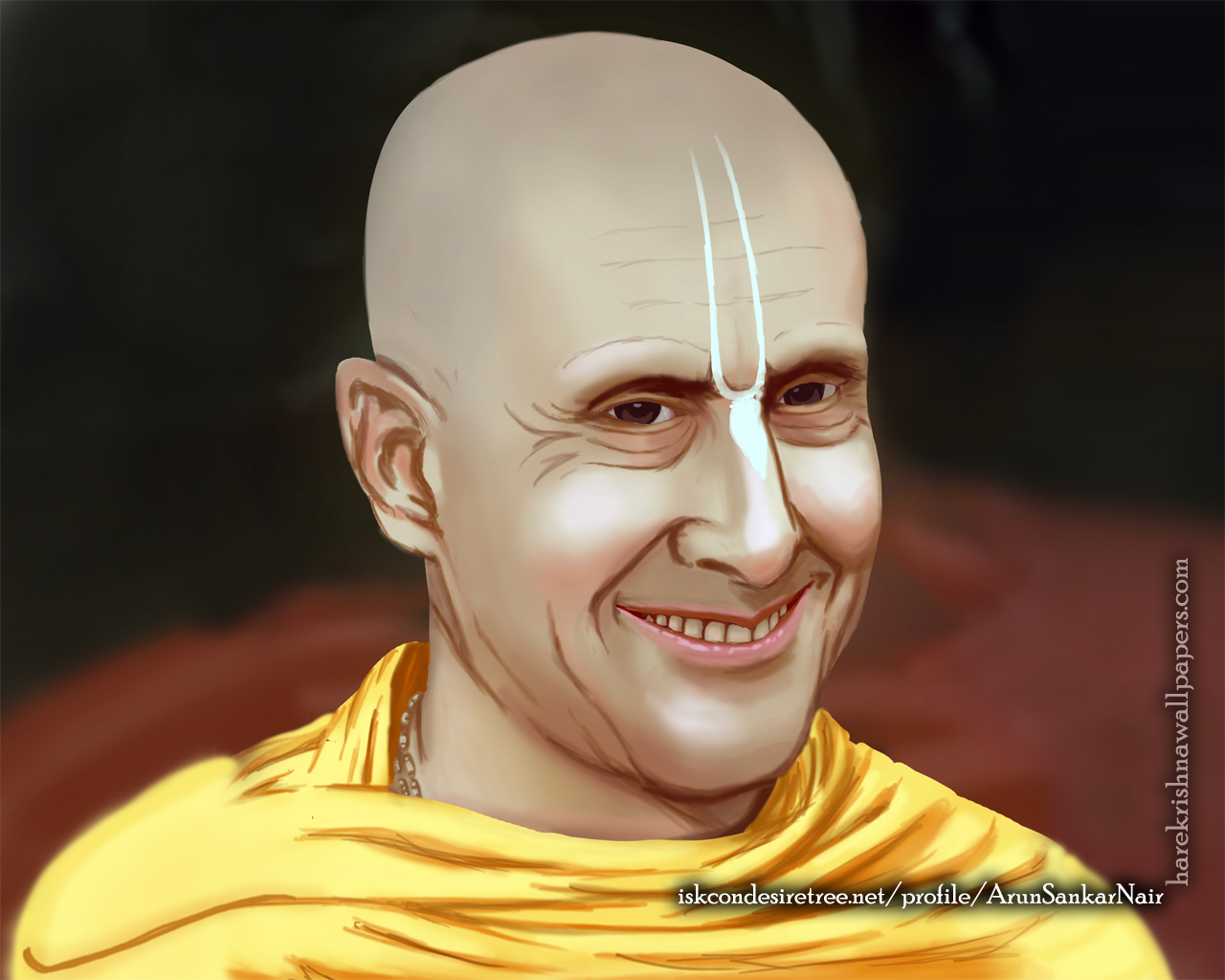 His Holiness Radhanath Swami Wallpaper (007) Size 1280x1024 Download