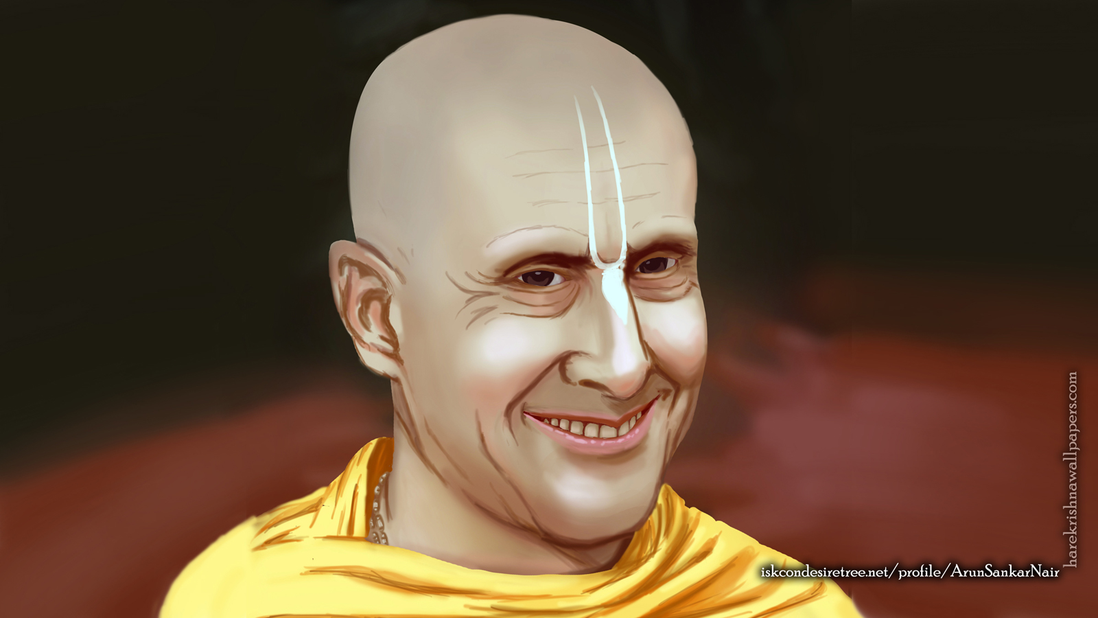 His Holiness Radhanath Swami Wallpaper (007) Size 1600x900 Download