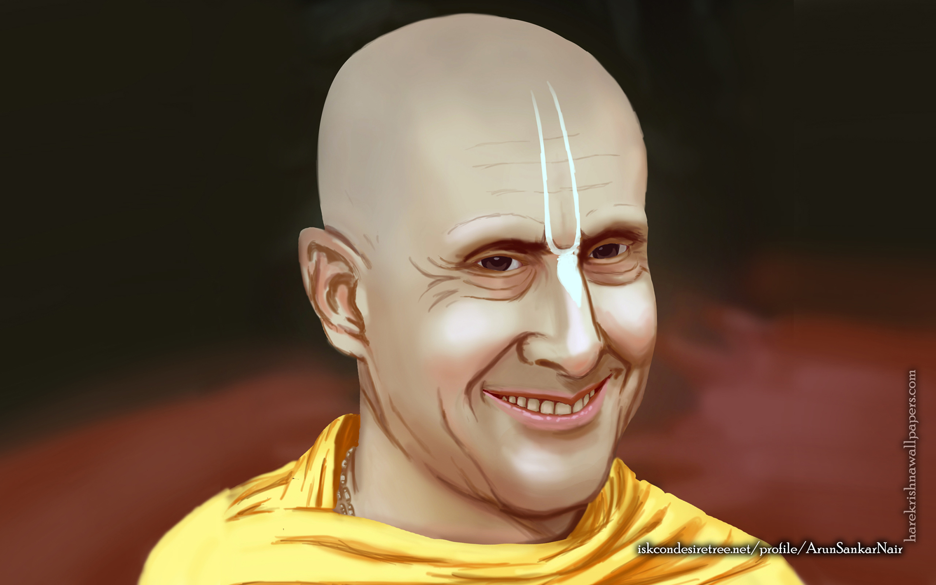 His Holiness Radhanath Swami Wallpaper (007) Size 1920x1200 Download