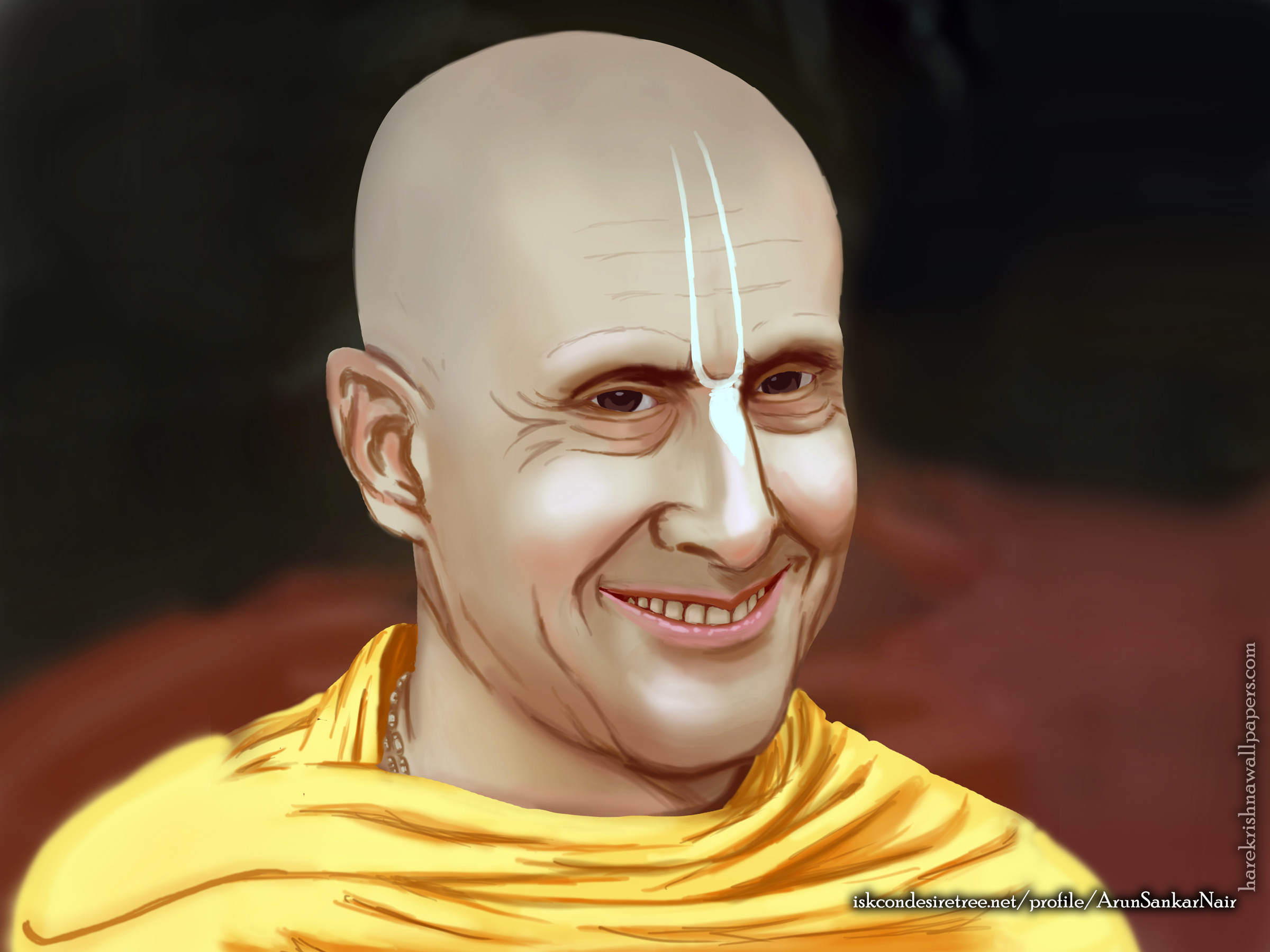 His Holiness Radhanath Swami Wallpaper (007) Size 2400x1800 Download