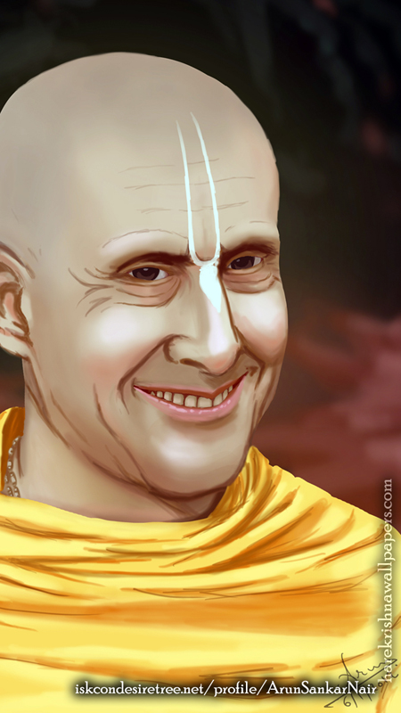 His Holiness Radhanath Swami Wallpaper (007) Size 450x800 Download