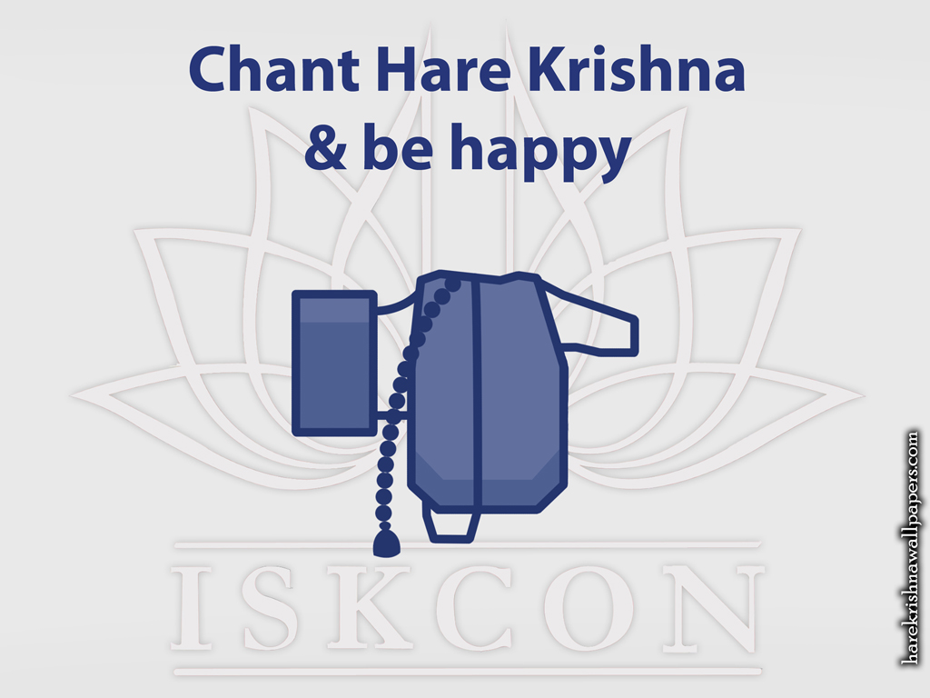 Chant Hare Krishna and be happy Wallpaper (009) Size 1024x768 Download