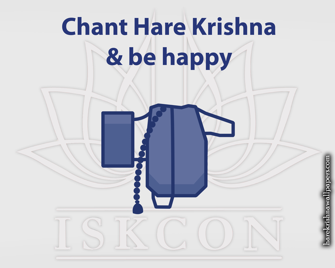 Chant Hare Krishna and be happy Wallpaper (009) Size 1280x1024 Download