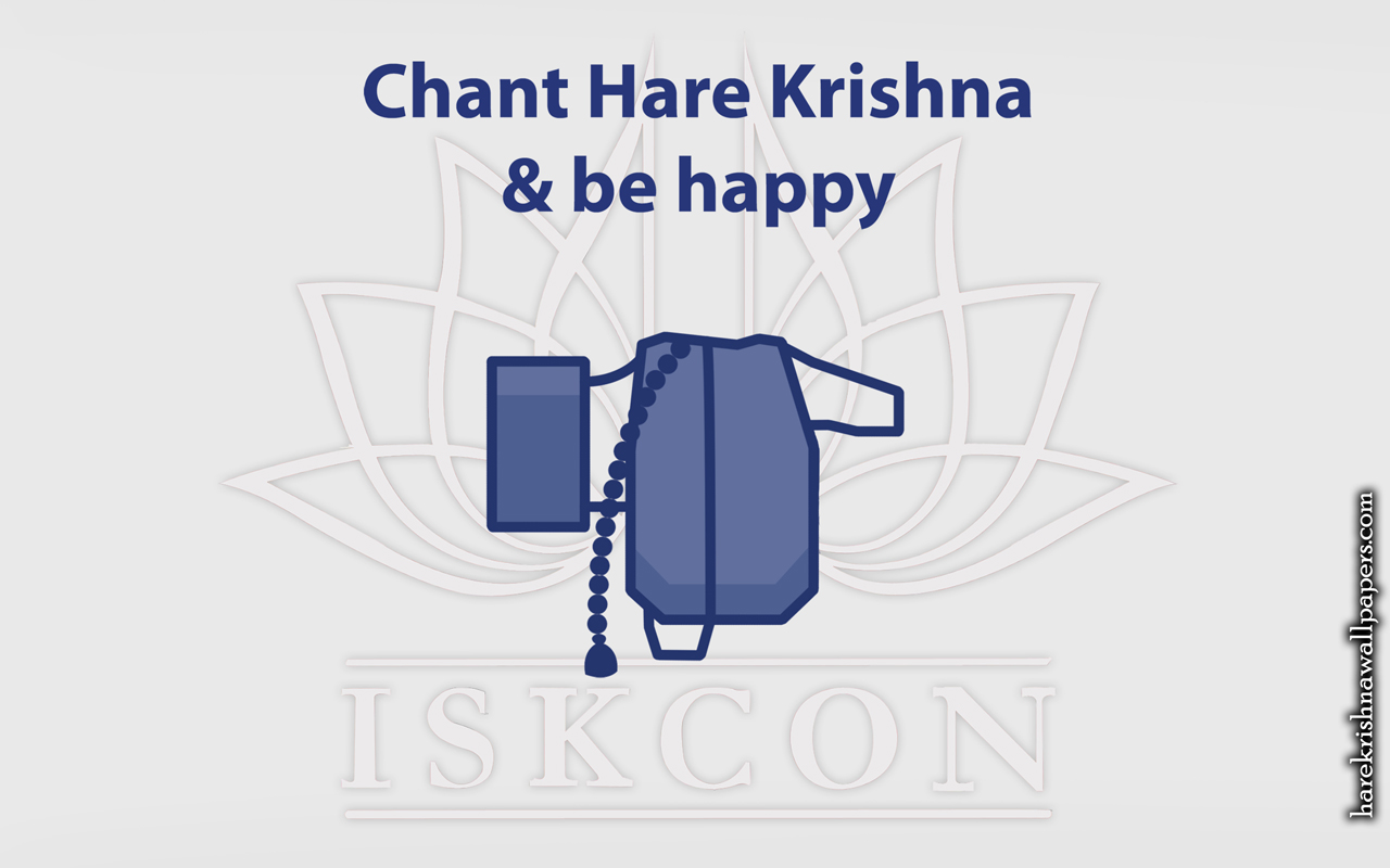 Chant Hare Krishna and be happy Wallpaper (009) Size 1280x800 Download