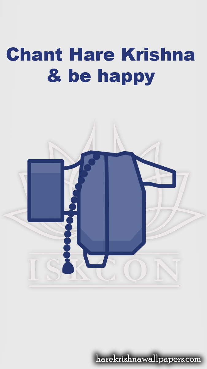Chant Hare Krishna and be happy Wallpaper (009) Size 675x1200 Download