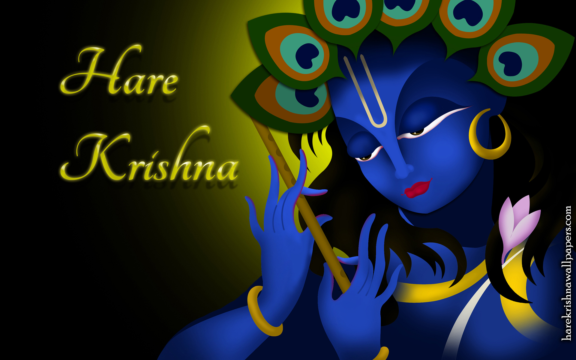 Hare Krishna Wallpaper (010) Size 1920x1200 Download