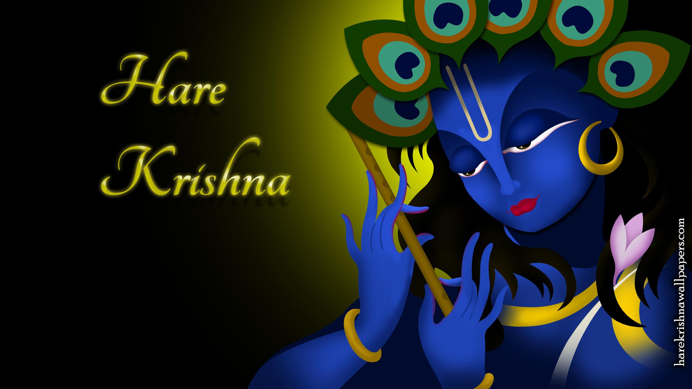 Hare Krishna Wallpaper (010) Size 2400x1350 Download
