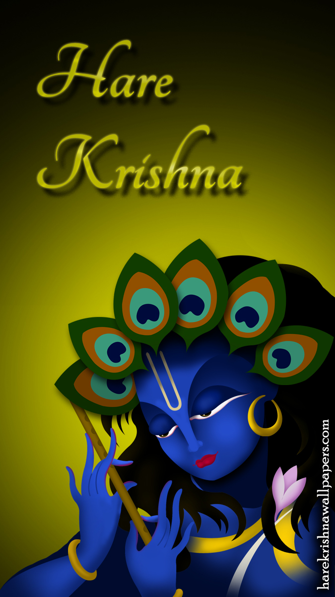Hare Krishna Wallpaper (010) Size 675x1200 Download
