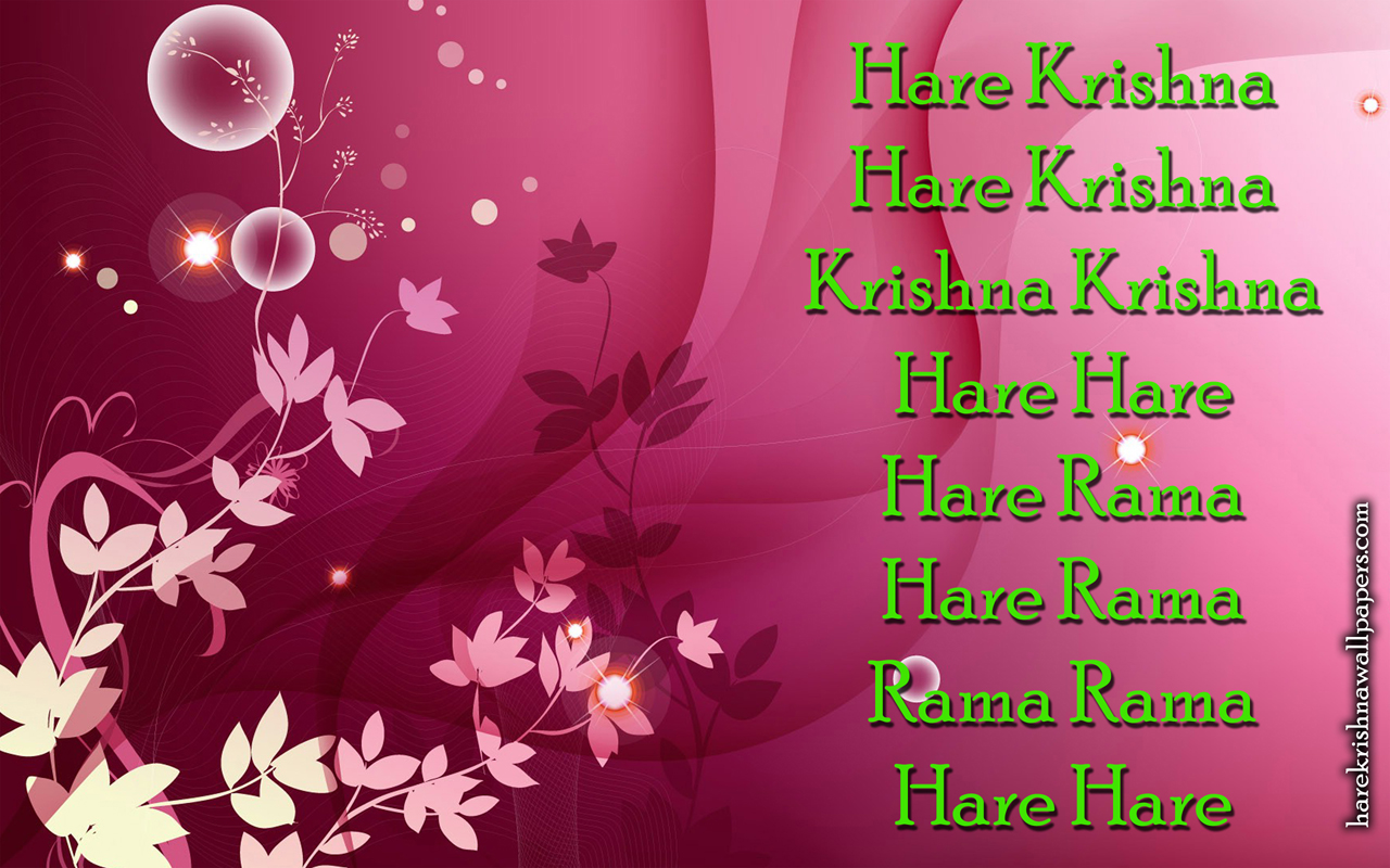 Chant Hare Krishna Mahamantra Wallpaper (017) Size 1280x800 Download