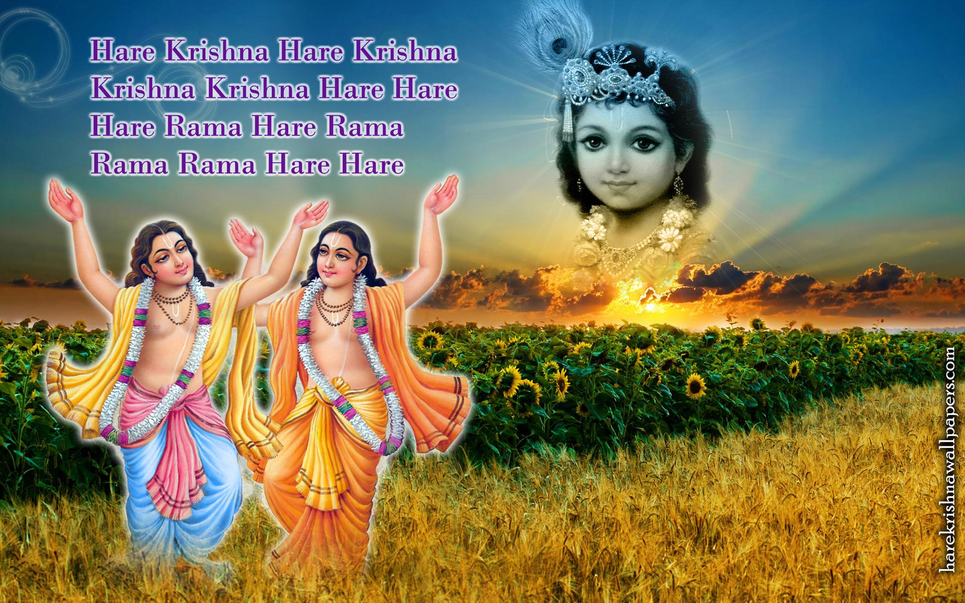 Chant Hare Krishna Mahamantra Wallpaper (018) Size 1920x1200 Download