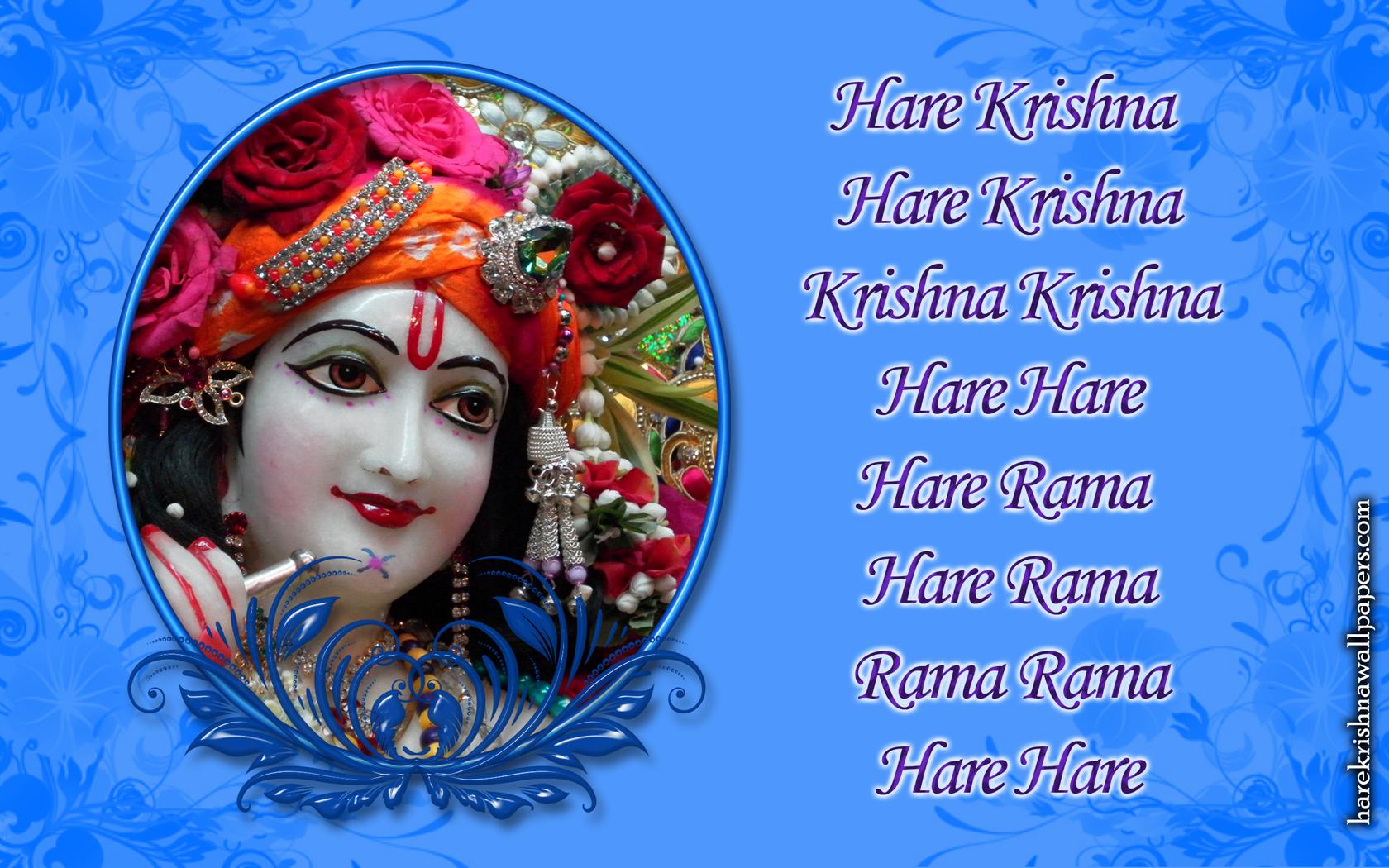 Chant Hare Krishna Mahamantra Wallpaper (019) Size 1680x1050 Download
