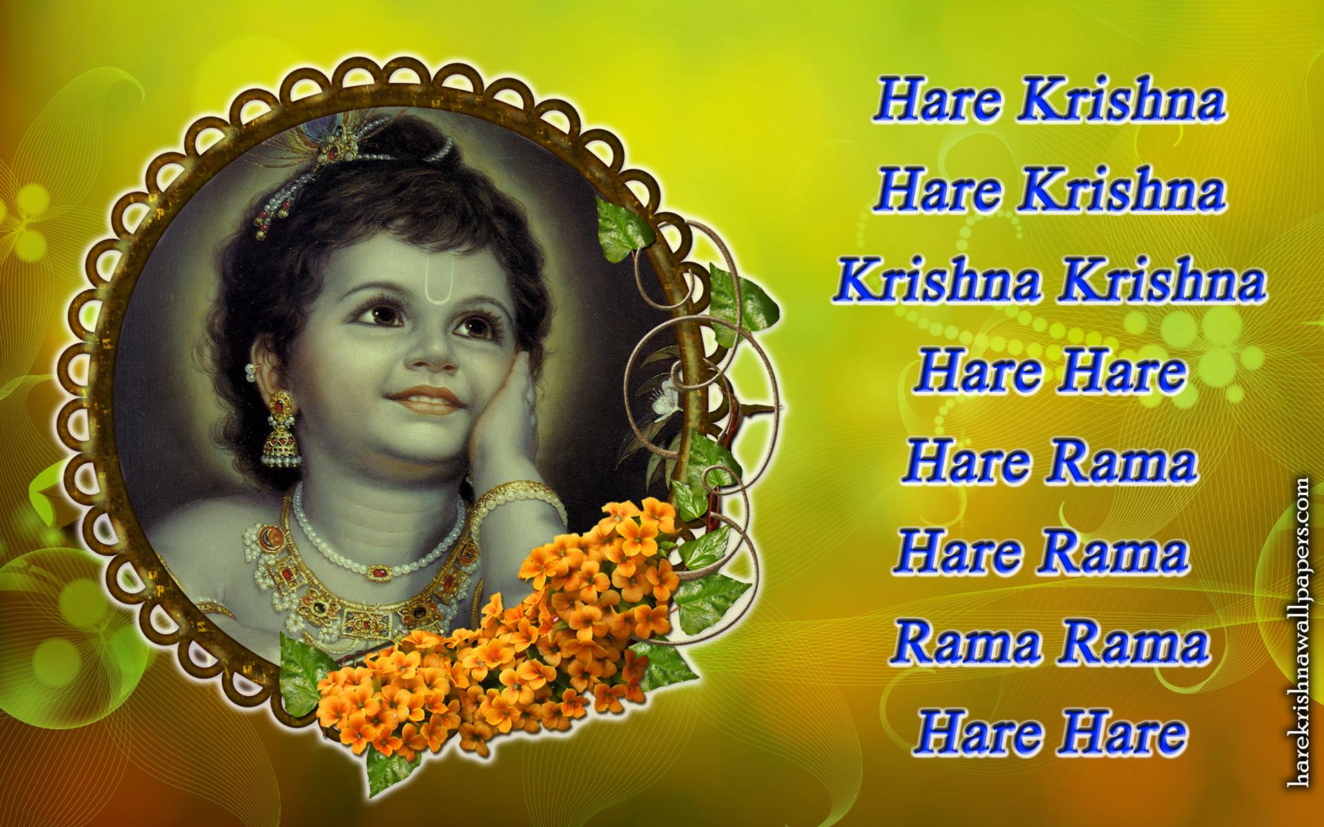 Chant Hare Krishna Mahamantra Wallpaper (020) Size 1920x1200 Download