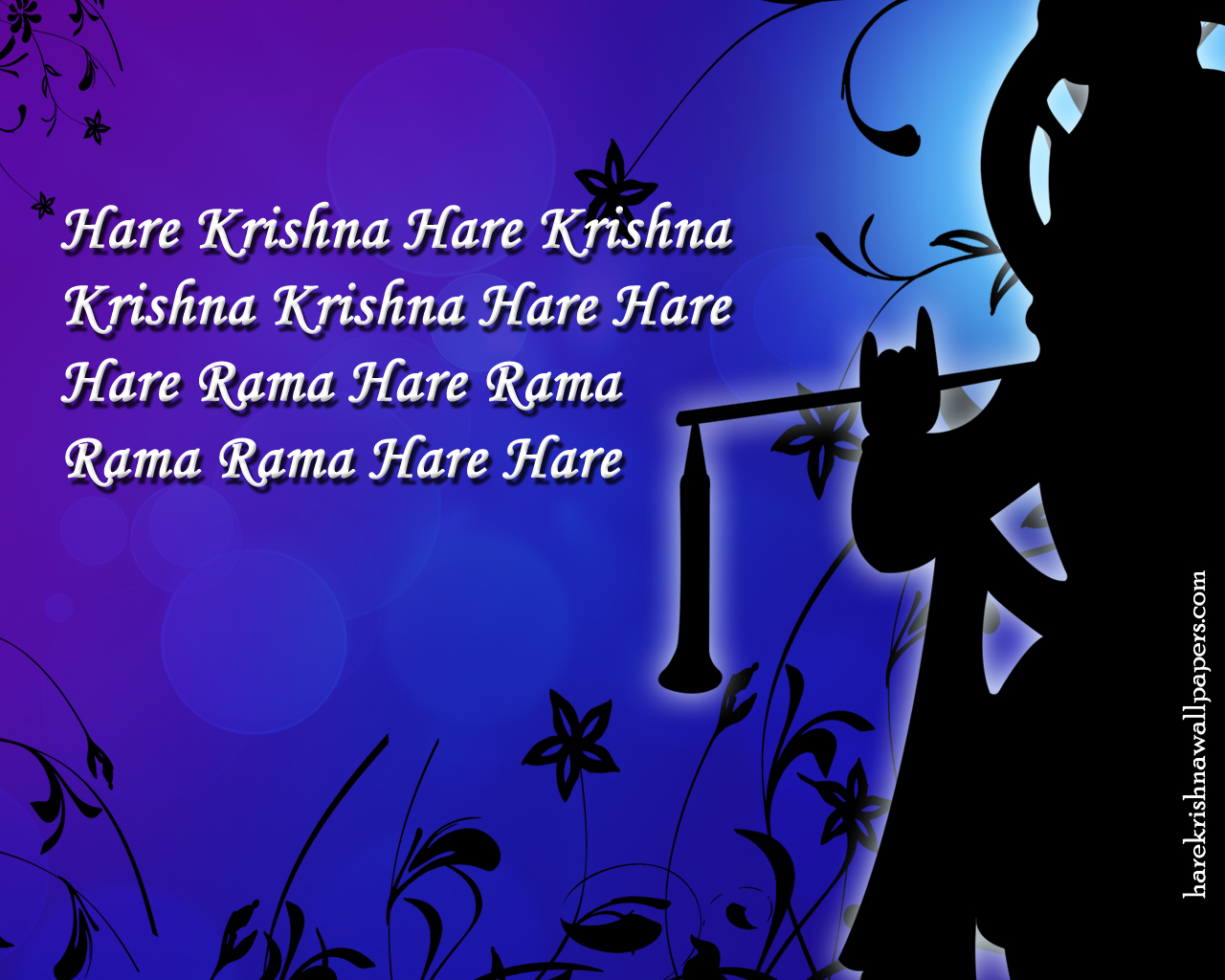 Chant Hare Krishna Mahamantra Wallpaper (021) Size 1280x1024 Download