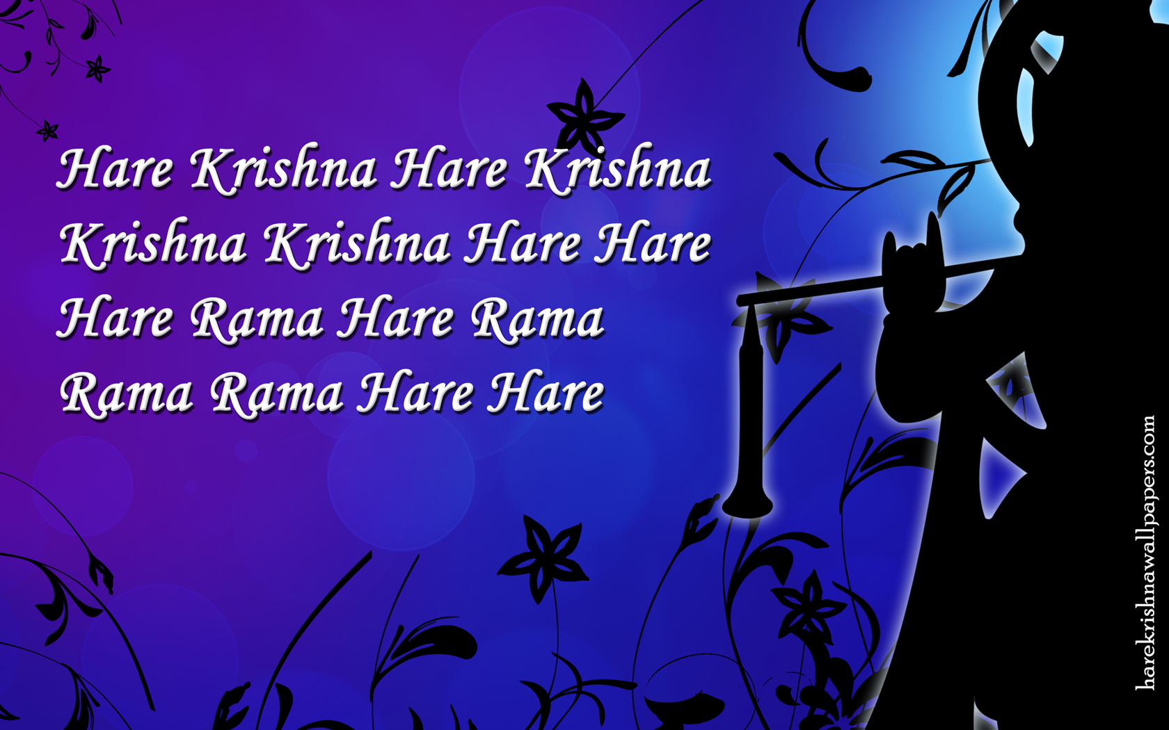 Chant Hare Krishna Mahamantra Wallpaper (021) Size 1680x1050 Download