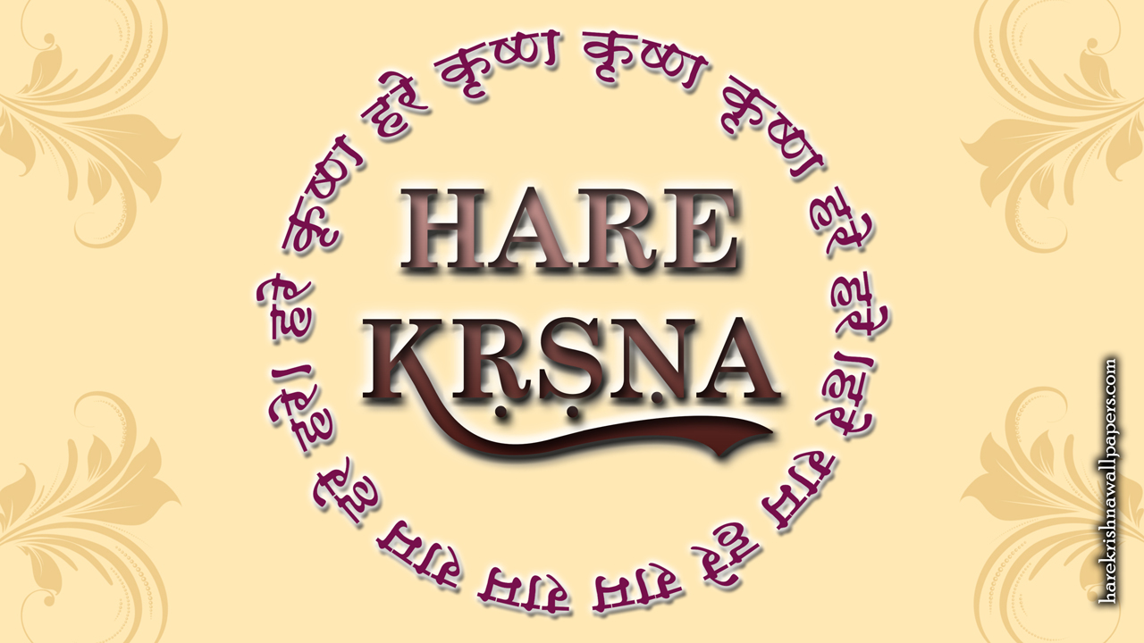 Chant Hare Krishna Mahamantra Wallpaper (022) Size1280x720 Download