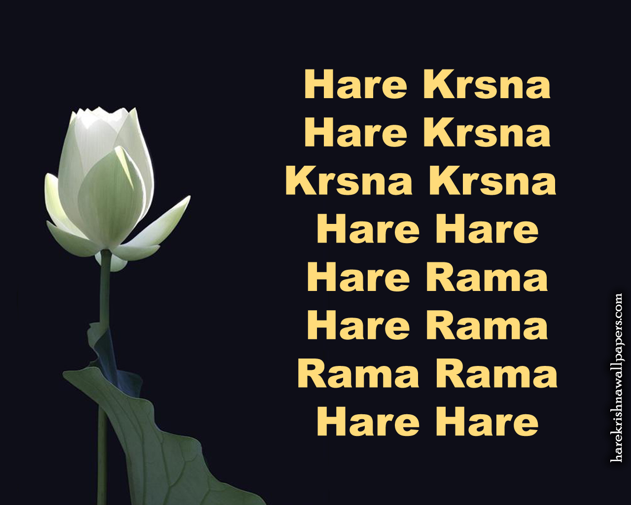 Chant Hare Krishna Mahamantra Wallpaper (025) Size 1280x1024 Download