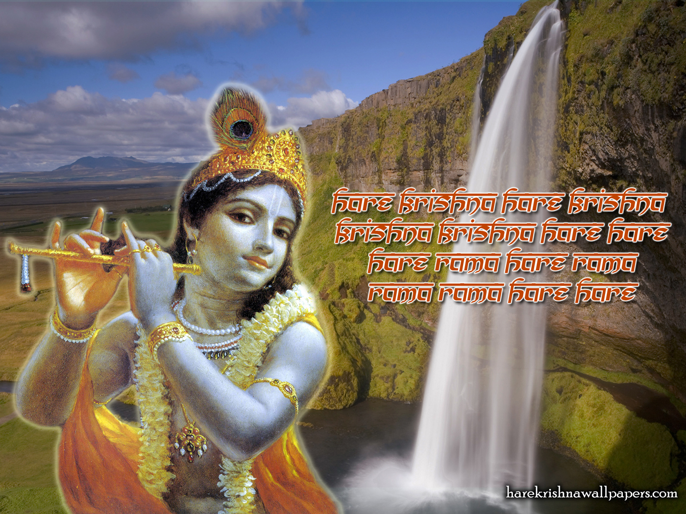Chant Hare Krishna Mahamantra Wallpaper (002) Size 1400x1050 Download