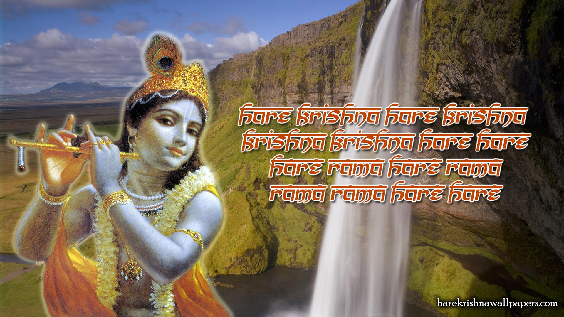 Chant Hare Krishna Mahamantra Wallpaper (002) Size 1920x1080 Download