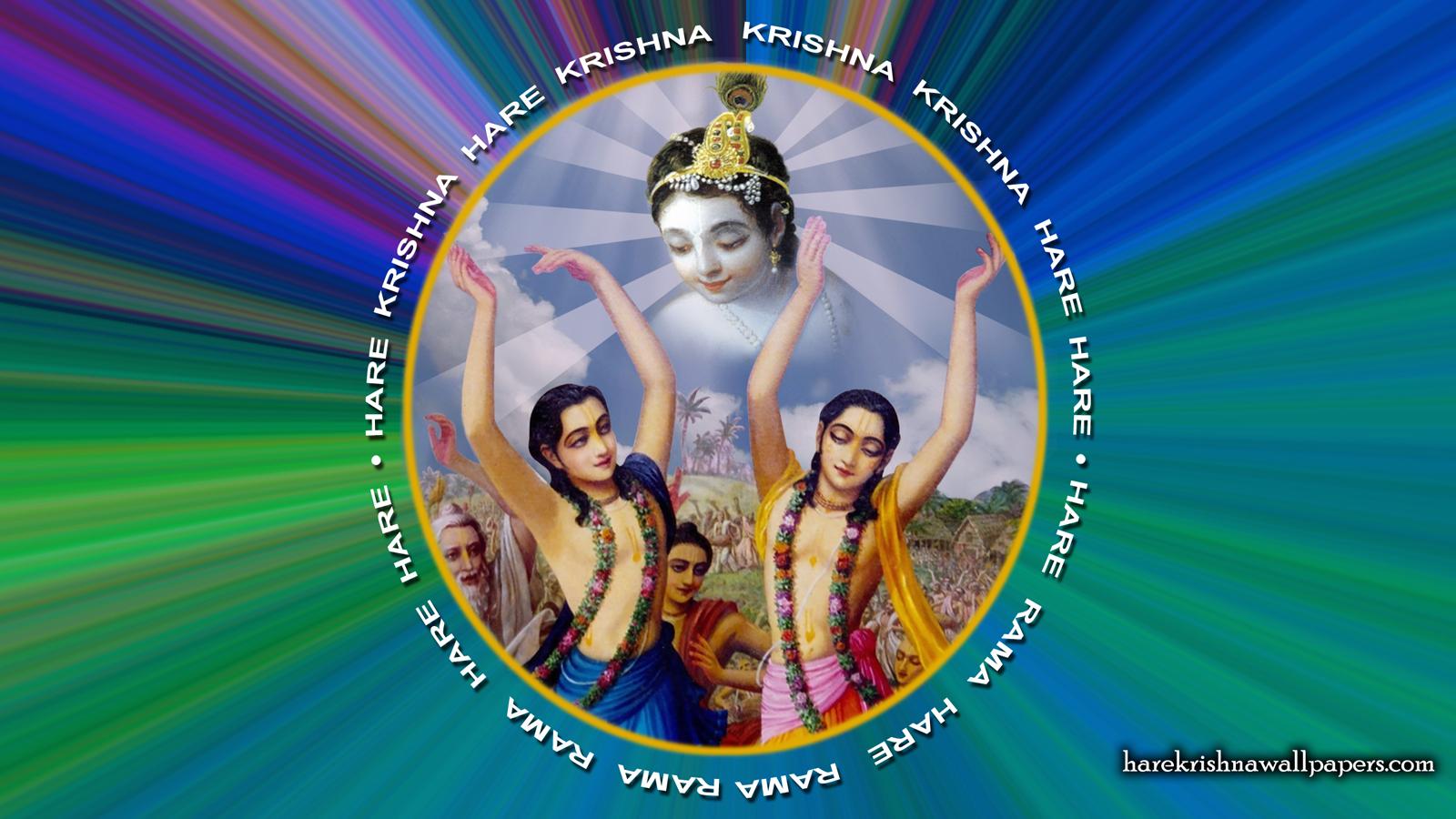 Chant Hare Krishna Mahamantra Wallpaper (003) Size 1600x900 Download