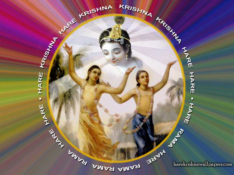 Chant Hare Krishna Mahamantra Wallpaper (004)