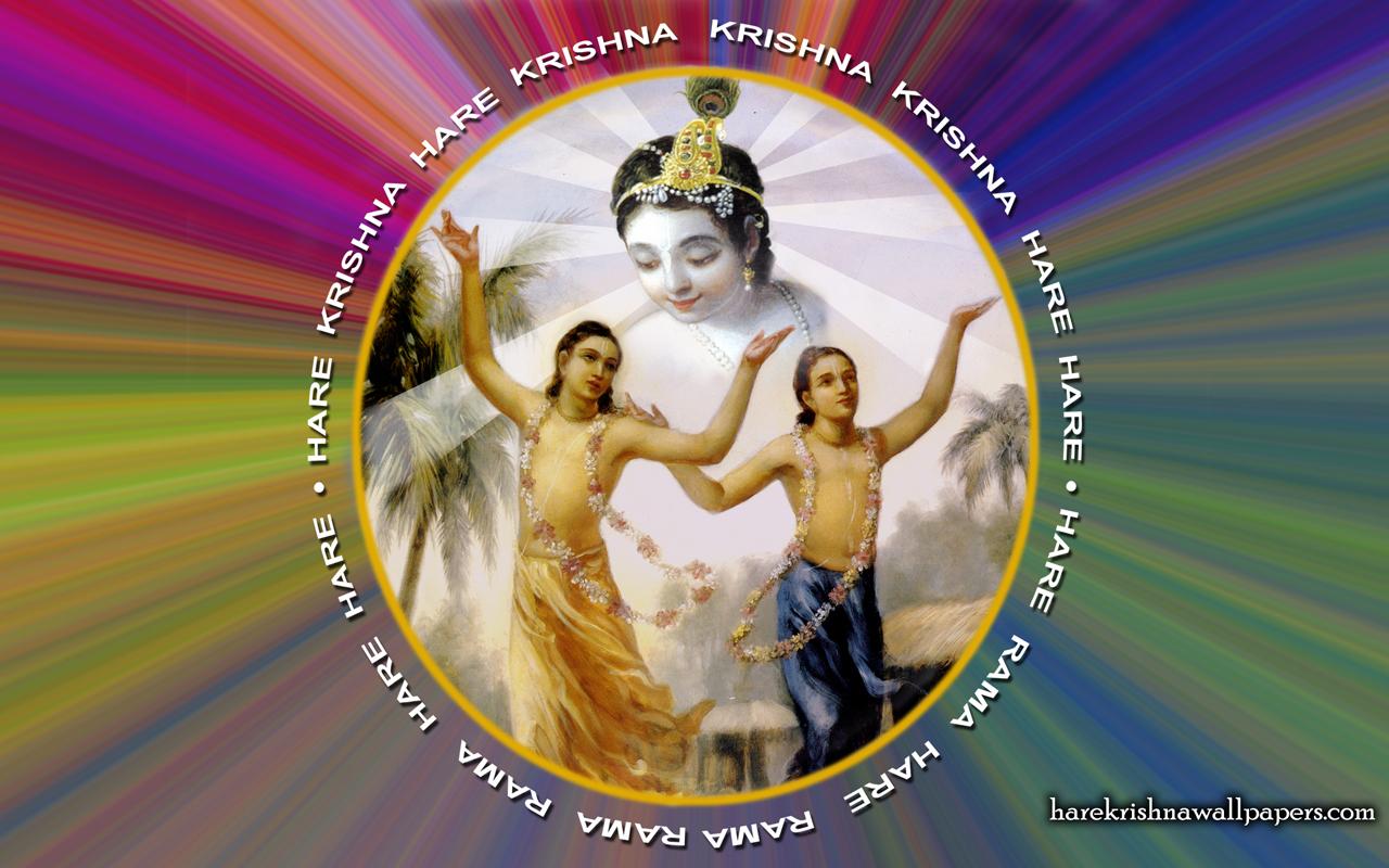 Chant Hare Krishna Mahamantra Wallpaper (004) Size 1280x800 Download