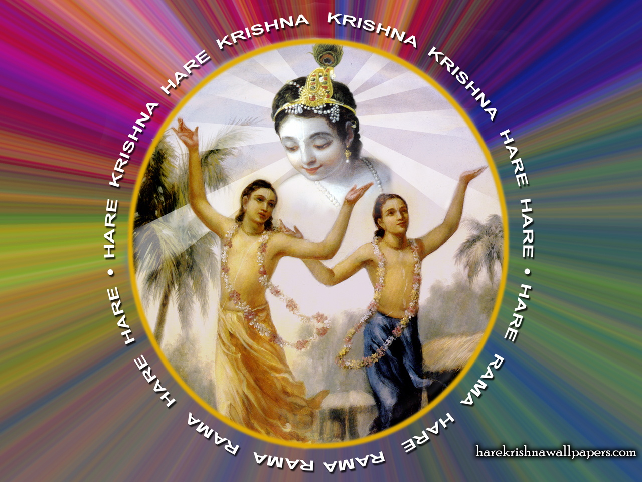 Chant Hare Krishna Mahamantra Wallpaper (004) Size 1280x960 Download