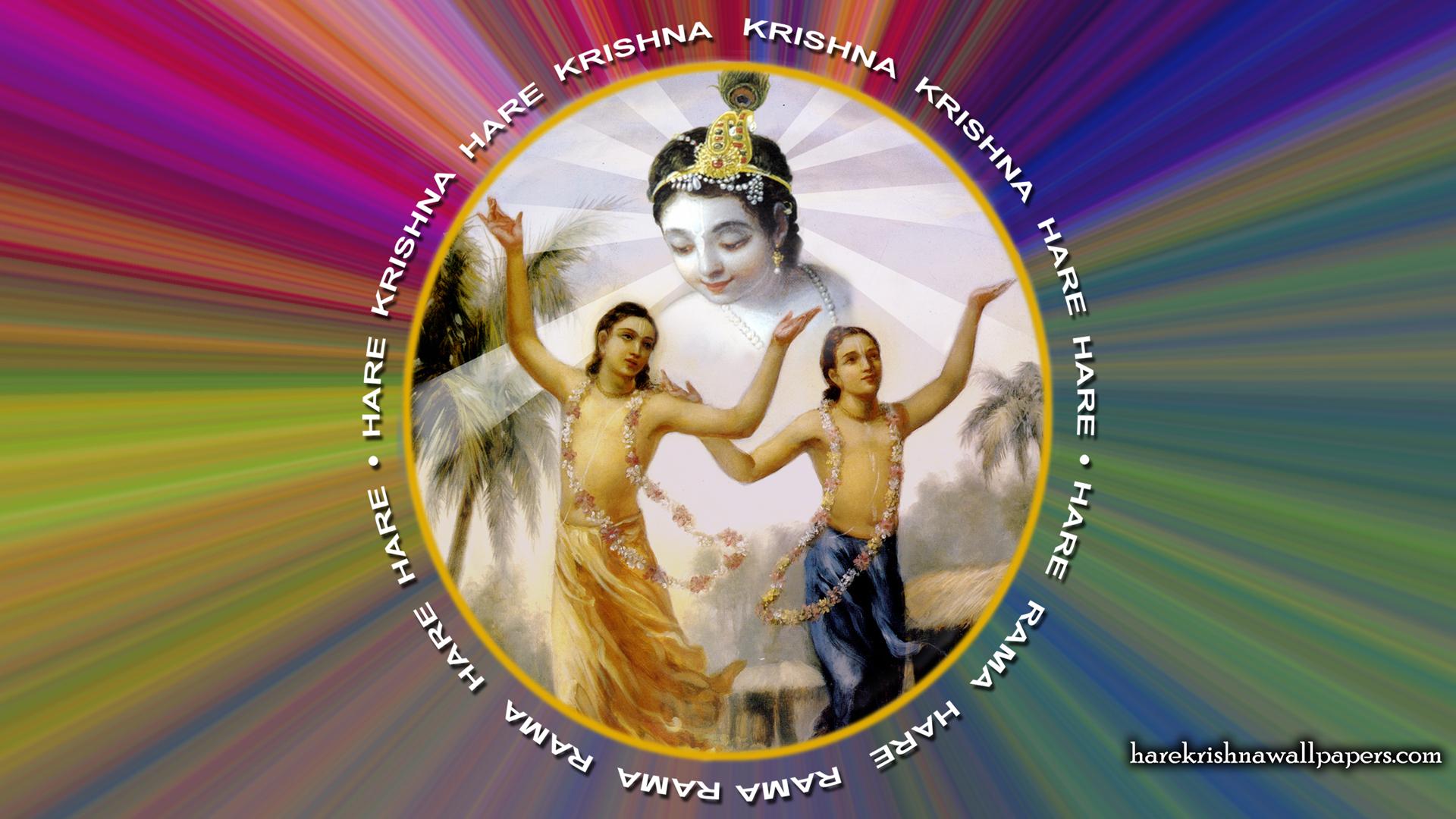 Chant Hare Krishna Mahamantra Wallpaper (004) Size 1920x1080 Download