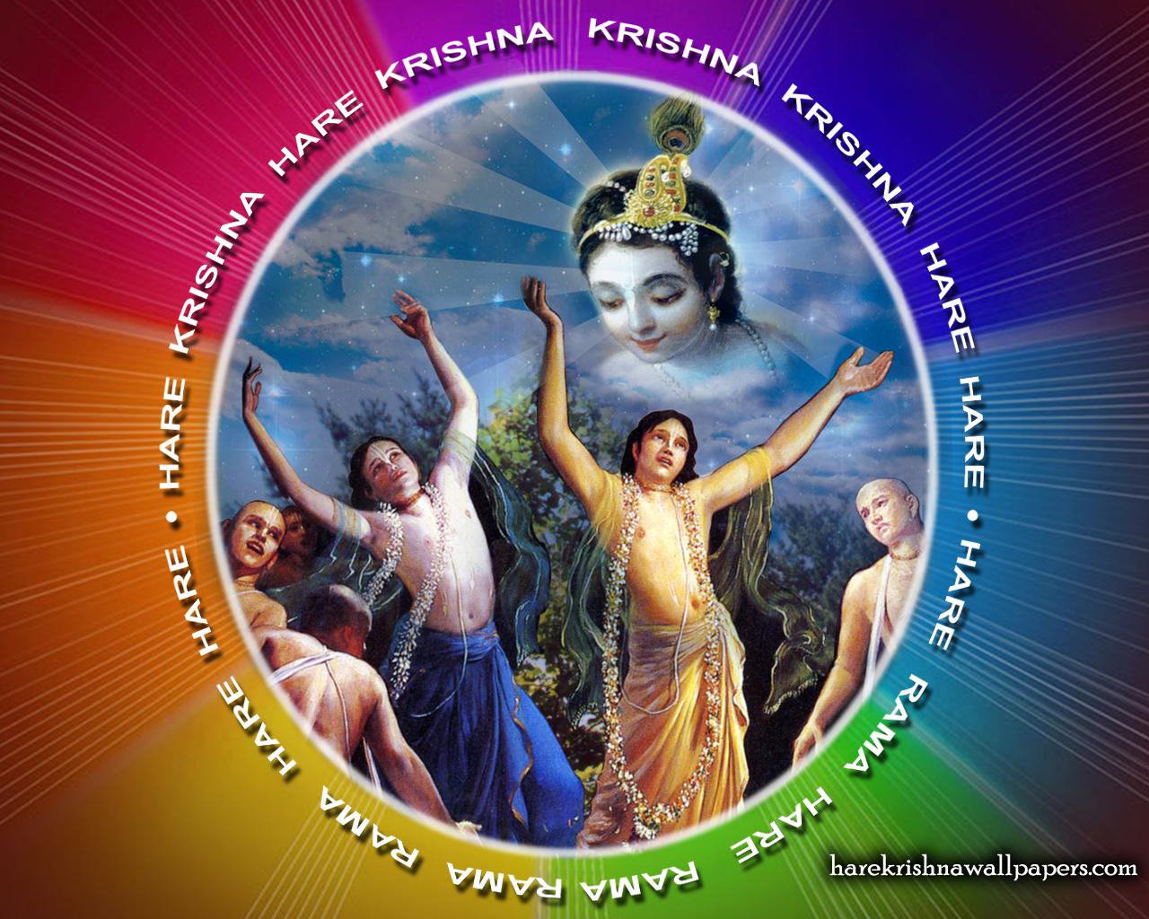 Chant Hare Krishna Mahamantra Wallpaper (005) Size 1280x1024 Download
