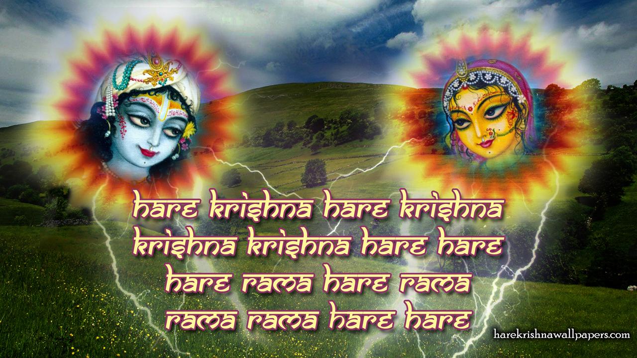 Chant Hare Krishna Mahamantra Wallpaper (006) Size1280x720 Download