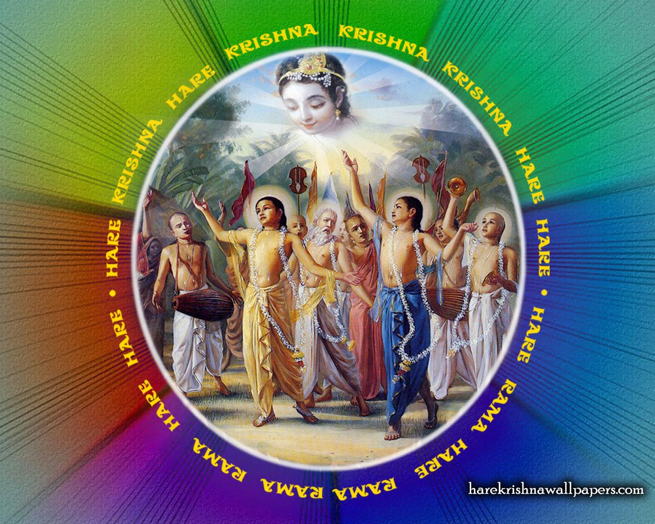 Chant Hare Krishna Mahamantra Wallpaper (008) Size 1280x1024 Download