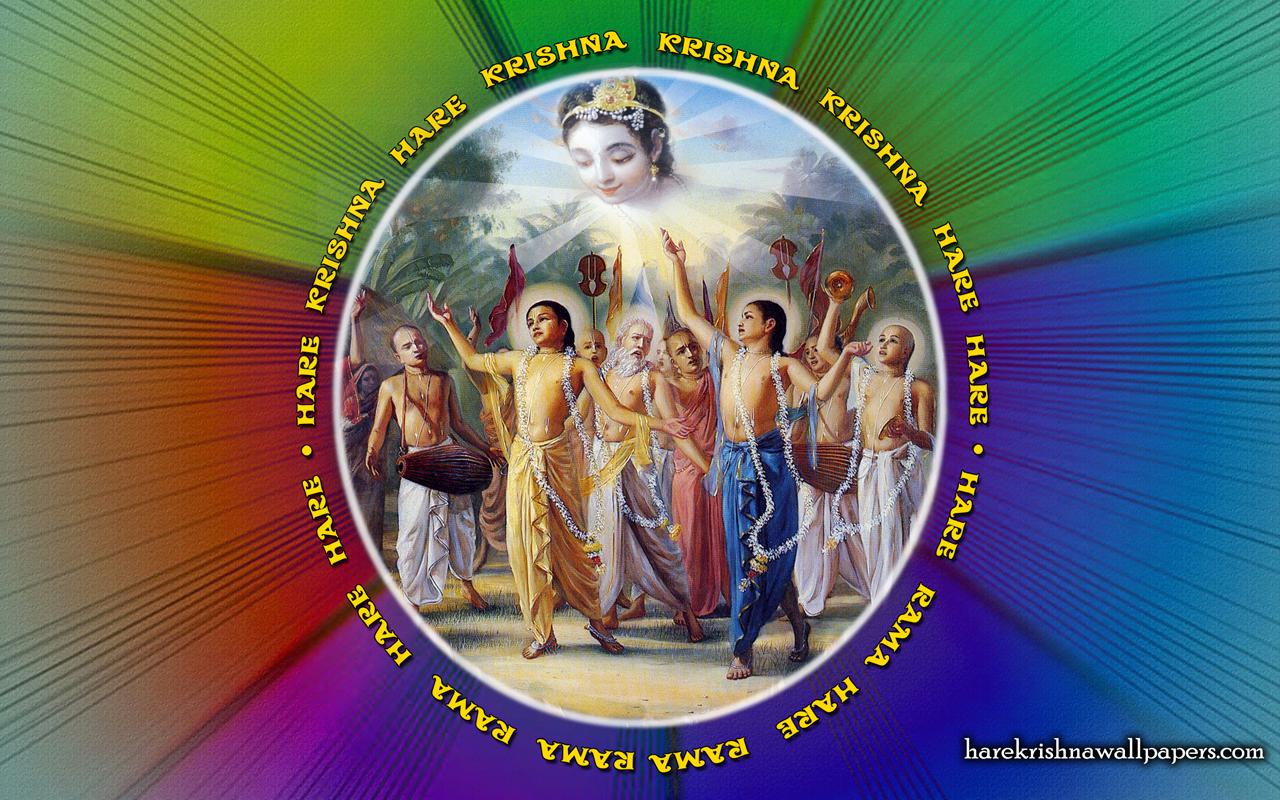 Chant Hare Krishna Mahamantra Wallpaper (008) Size 1280x800 Download