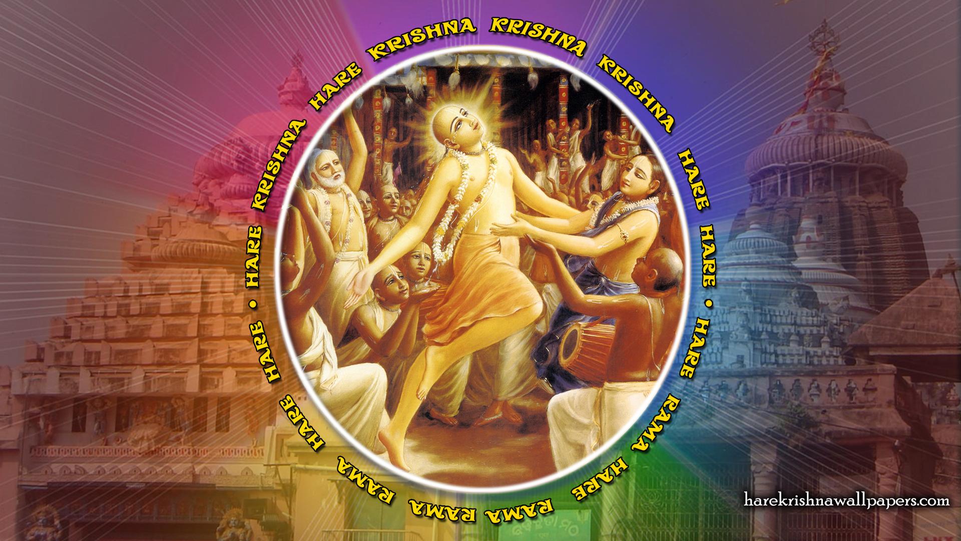 Chant Hare Krishna Mahamantra Wallpaper (009) Size 1920x1080 Download