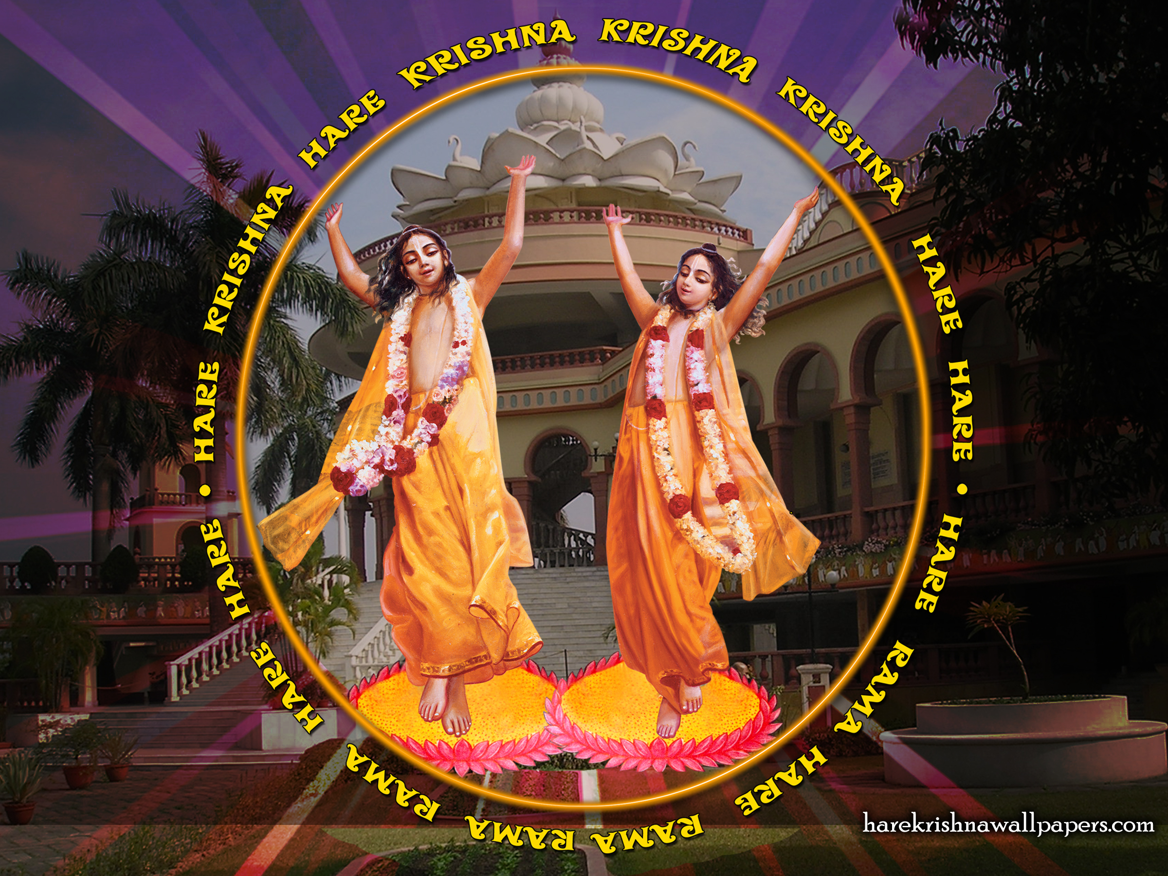 Chant Hare Krishna Mahamantra Wallpaper (010) Size 2400x1800 Download