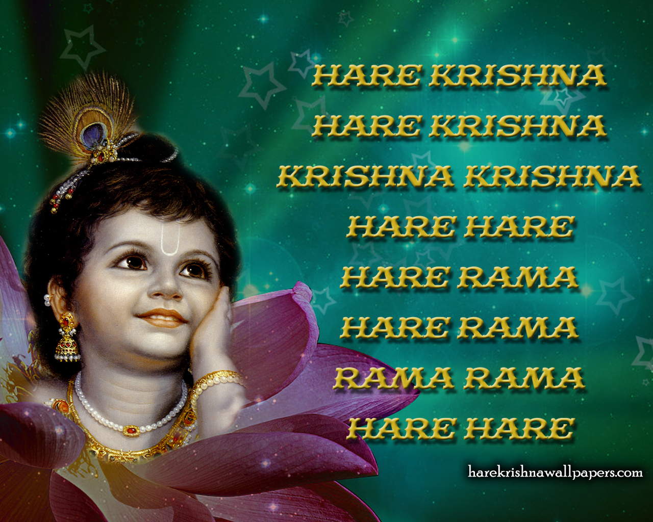 Chant Hare Krishna Mahamantra Wallpaper (011) Size 1280x1024 Download