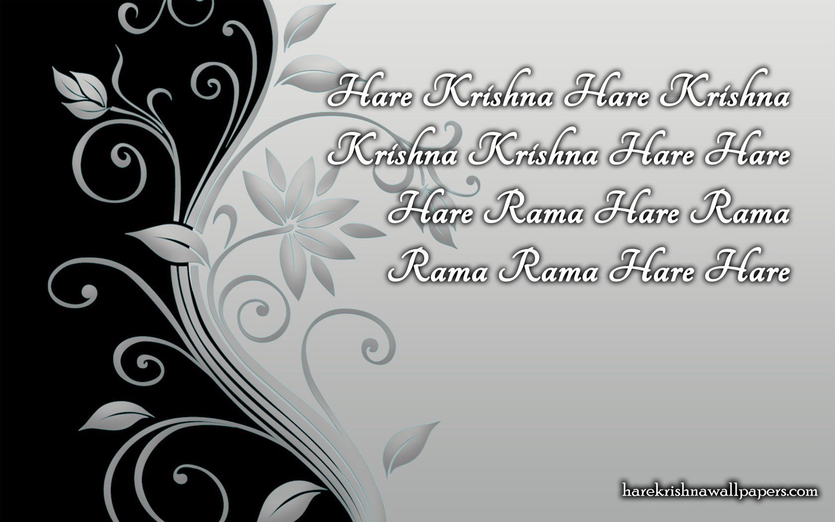 Chant Hare Krishna Mahamantra Wallpaper (013) Size 1680x1050 Download