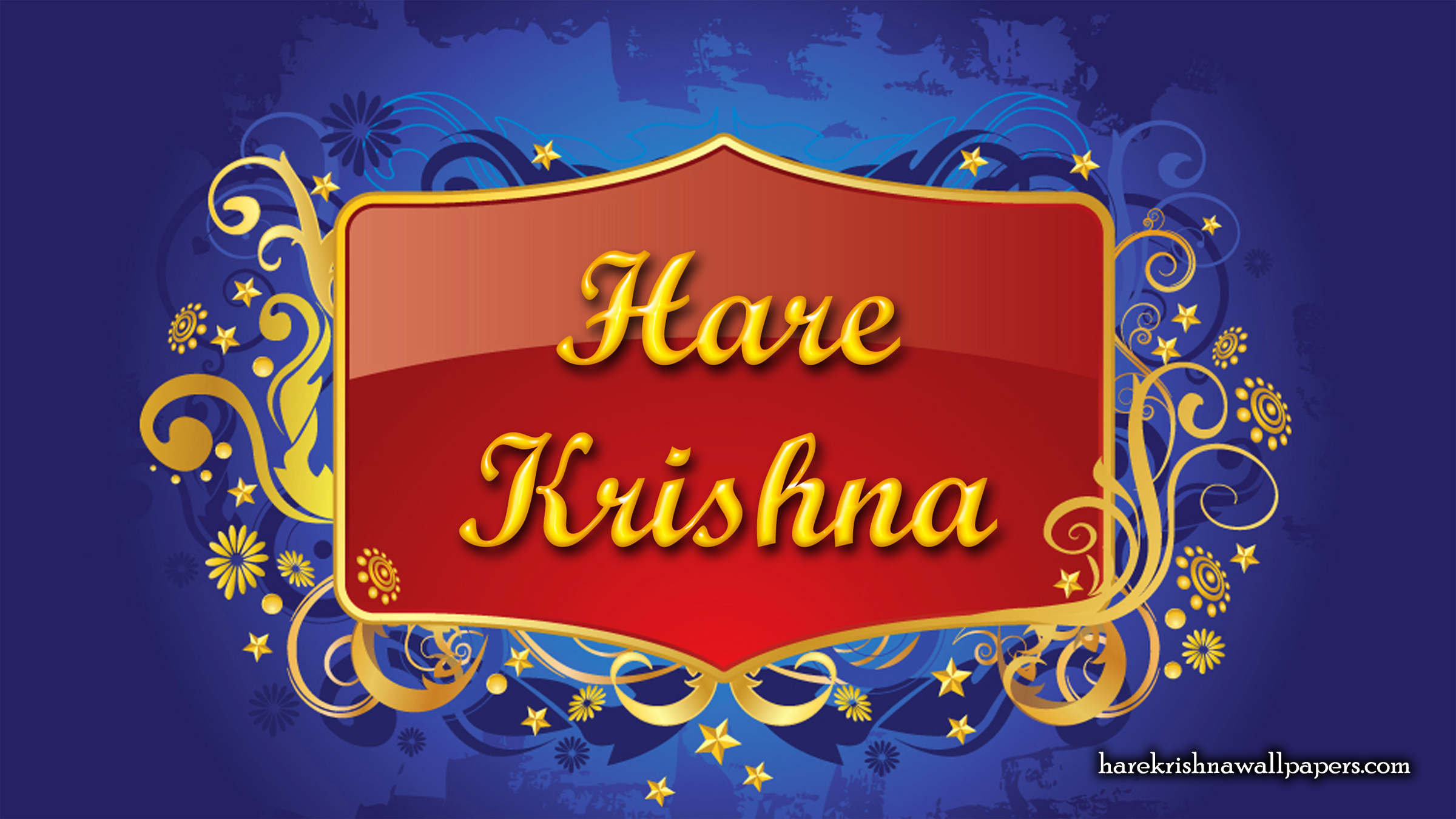Hare Krishna Wallpaper (003) Size 2400x1350 Download