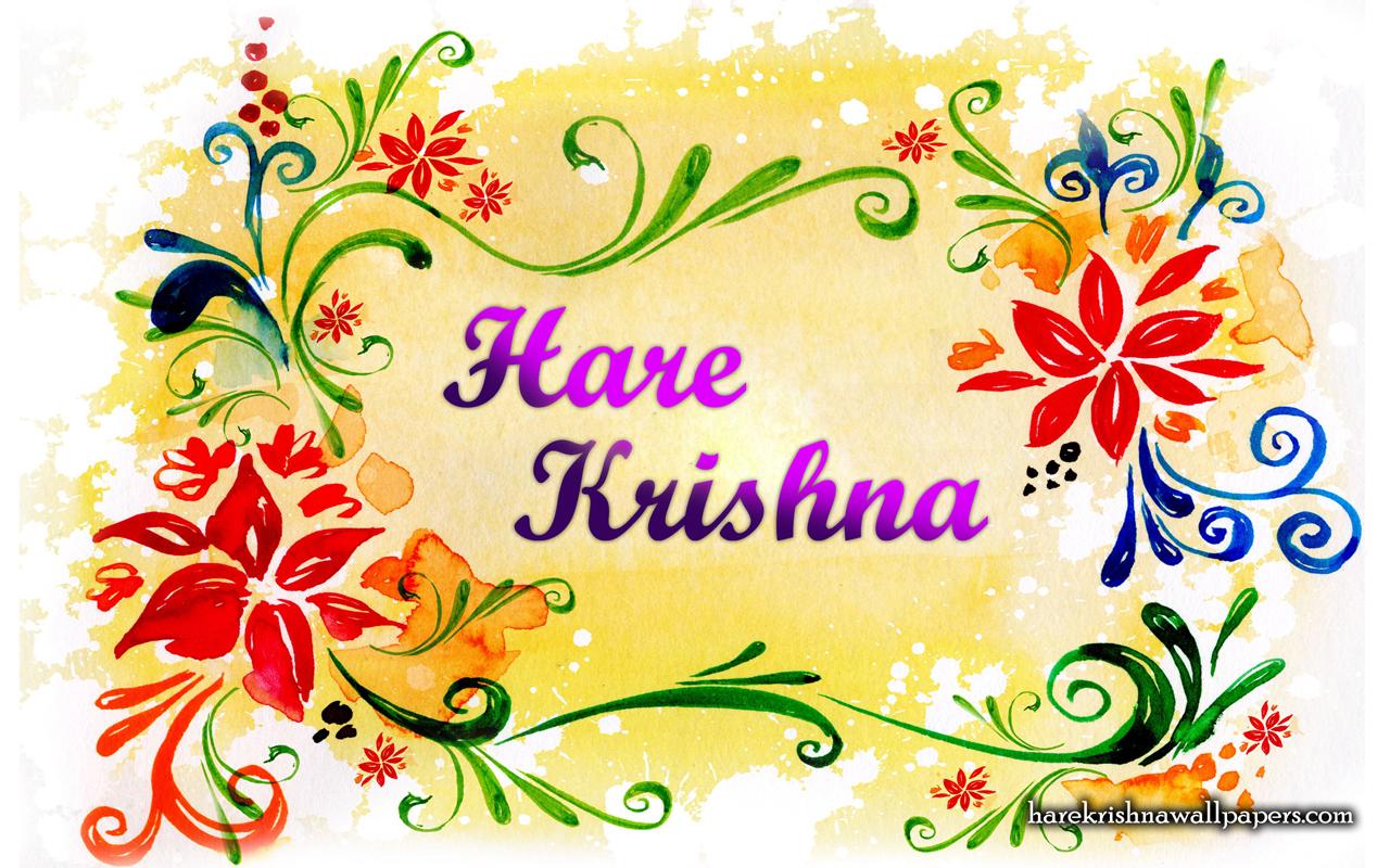 Hare Krishna Wallpaper (004) Size 1280x800 Download