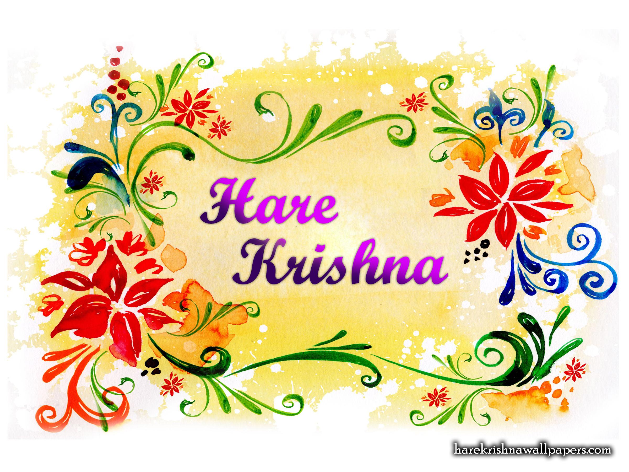 Hare Krishna Wallpaper (004) Size 2400x1800 Download