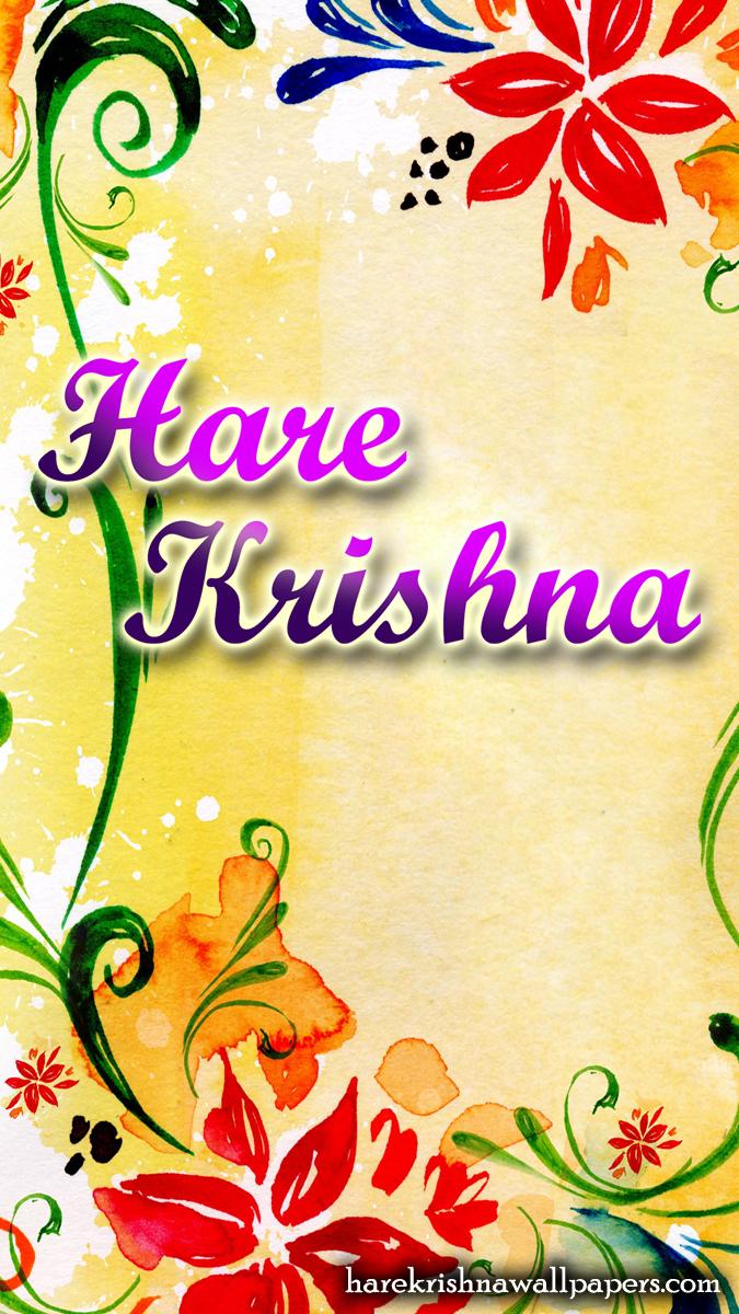 Hare Krishna Wallpaper (004) Size 675x1200 Download