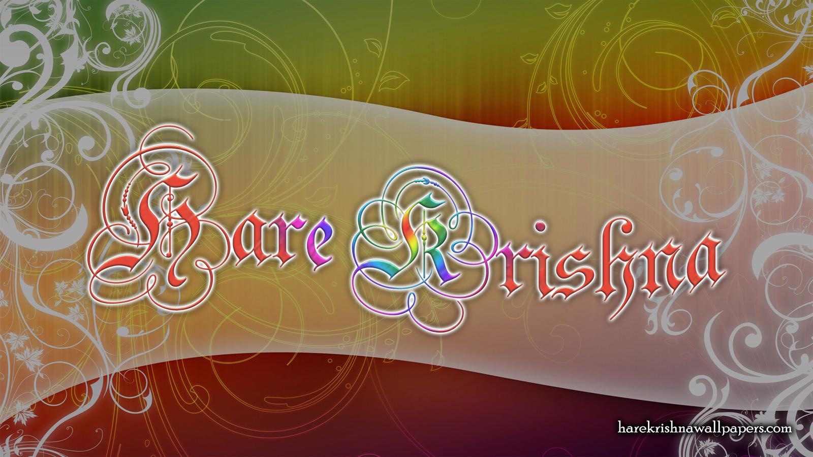 Hare Krishna Wallpaper (005) Size 1600x900 Download
