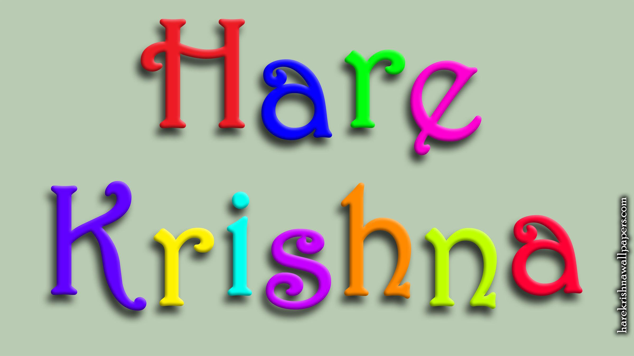 Hare Krishna Wallpaper (008) Size 2400x1350 Download