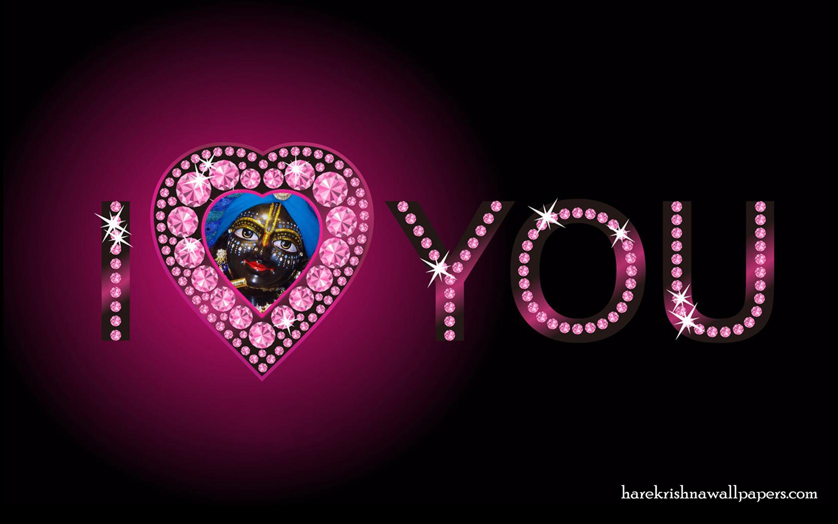 I Love You Gokulananda Wallpaper (006) Size 1680x1050 Download